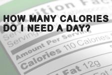 Quantità di assunzione giornaliera di calorie